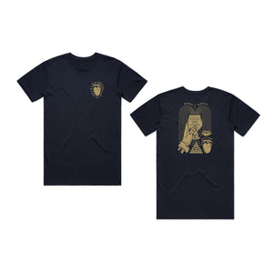 INDUSTRY SUPPORT TEE - (NAVY)