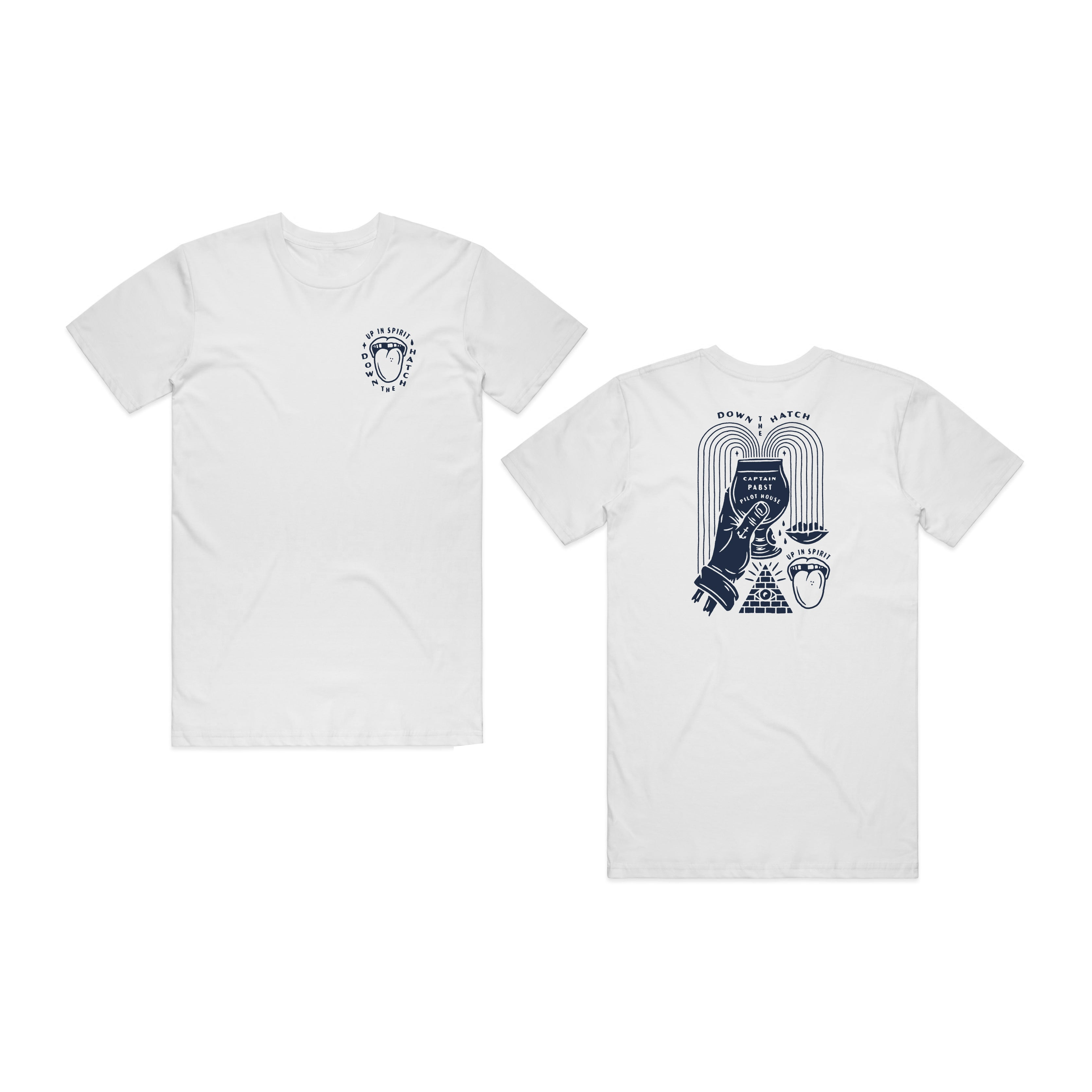 INDUSTRY SUPPORT TEE - (WHITE)