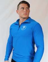 Load image into Gallery viewer, Men's Quarter Zip (Space Blue)