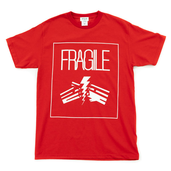 FRAGILE VOU tee (RED)