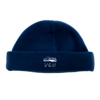 VOU FLEECE BEANIE (NAVY)