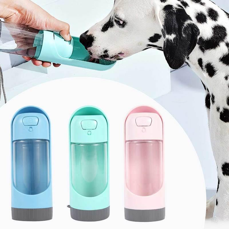 Portable Pet Dog Water Bottle - Activated Carbon Filter Bowl - eVariah Shop