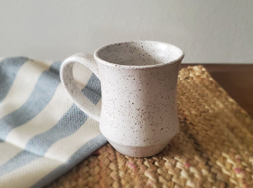 Matilda Mug - Speckled White