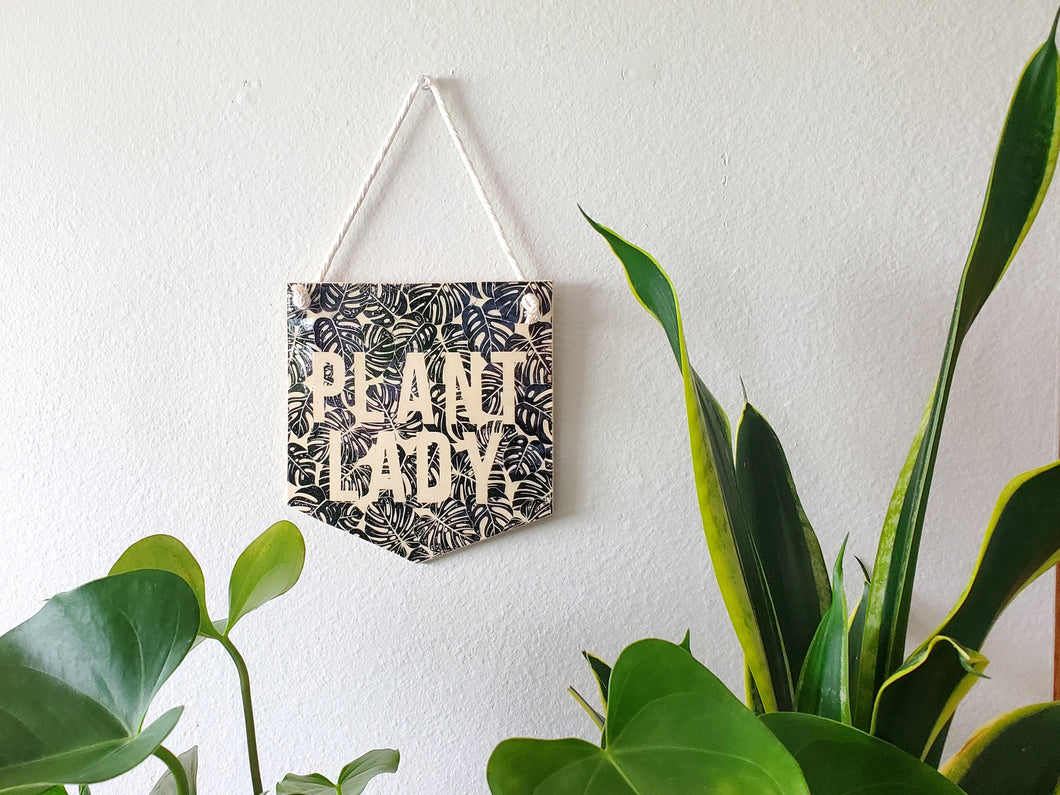 Plant Lady Wall Hanging - Large