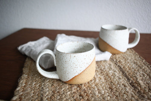 Dipped White Mug