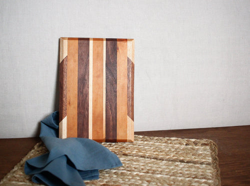 Walnut, Maple & Cherry Cutting Board #2