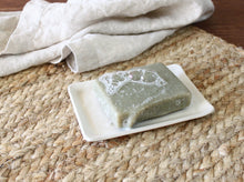 Load image into Gallery viewer, Soap Dish - White - Flannel Feather