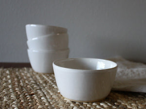 Bowl Set, Mini - Gloss White