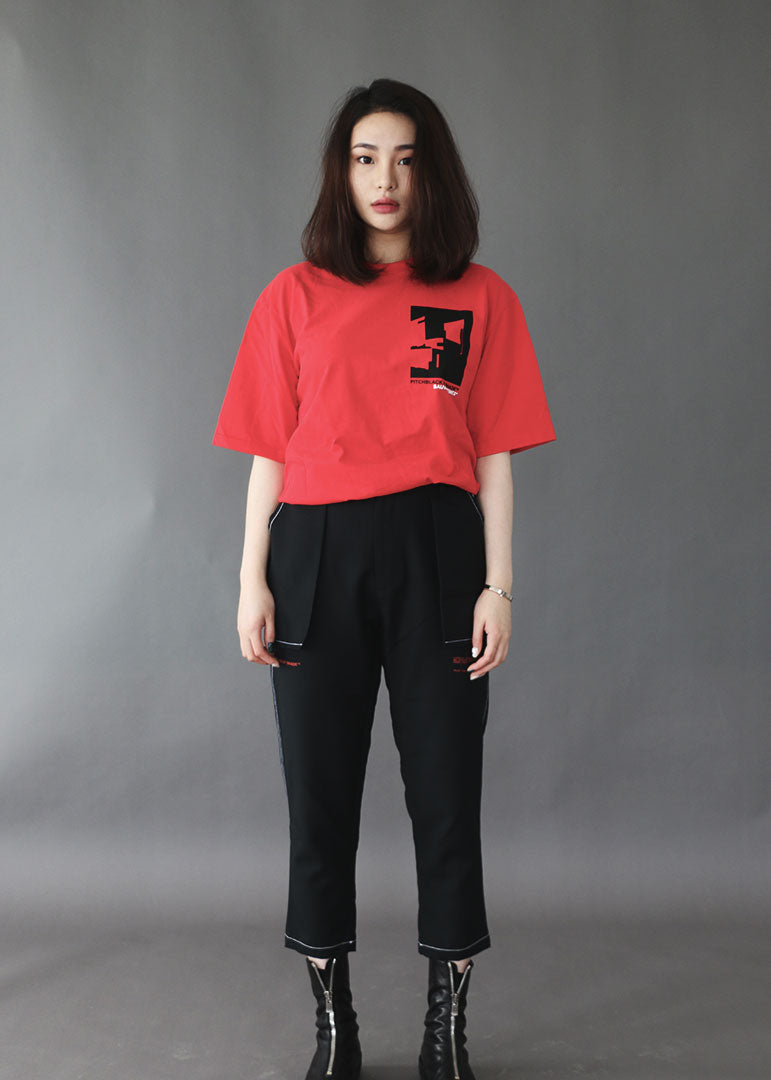 LIMINAL SPACE RED T-SHIRT