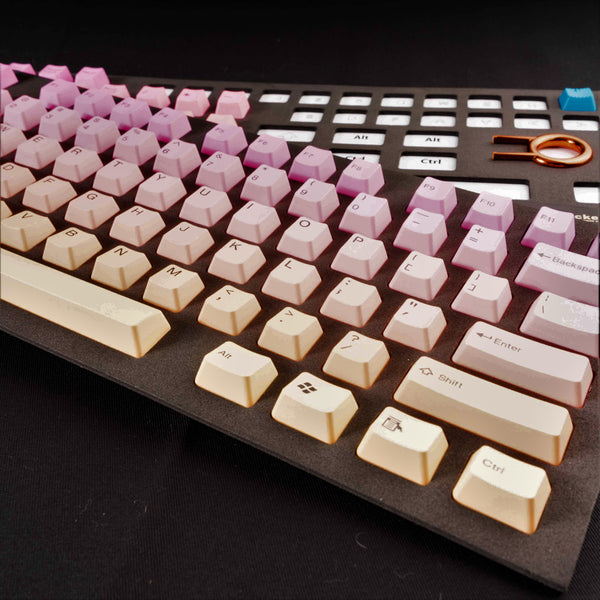 Tai-Hao Doubleshot PBT Sunset 6 Color  Mix Keycap Set
