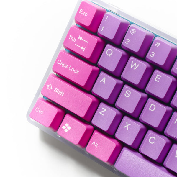Tai-Hao Doubleshot ABS Purple Mystery Mix Keycap Set - Restock on 19/12/30
