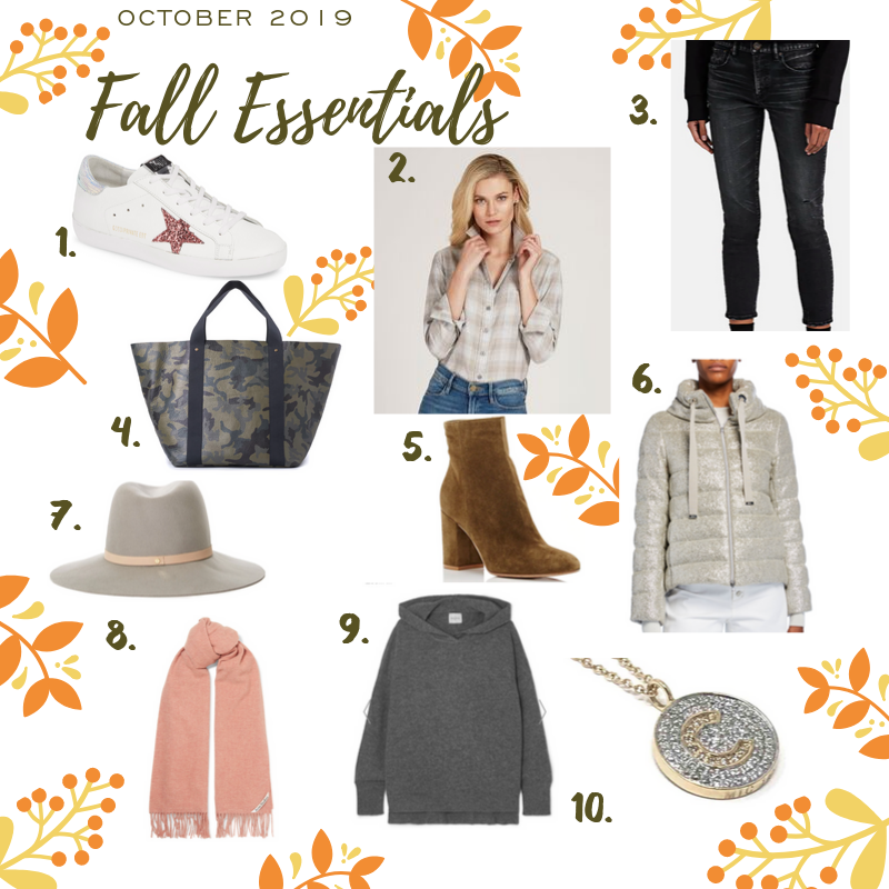 Fall 2019 Top Ten Essentials