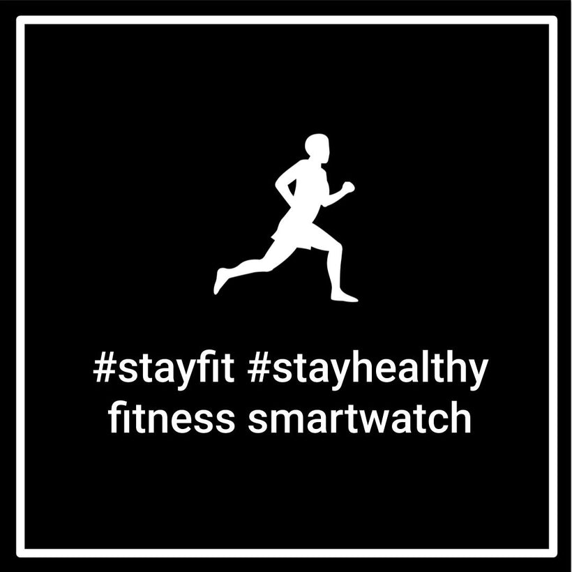 Stay Fit & Healthy Fitness Smartwatch Bundle Deals