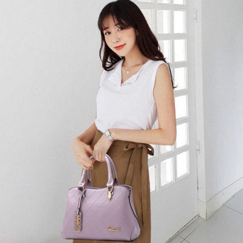Premium Designed Women PU Leather Cross Body Bag