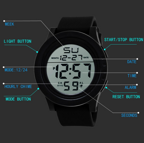 Honhx LED Premium Men's Watch