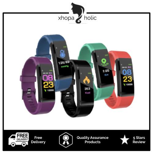 [Bundle Set of 2] [Only at RM65] Multi-Functional Fitness Smart Sports Watch Band