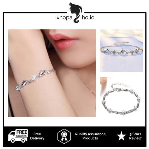 [Buy 2 Bracelets @ RM80] [Comes With Bracelet Box] Stylish Minimalist Designed Women Bracelets