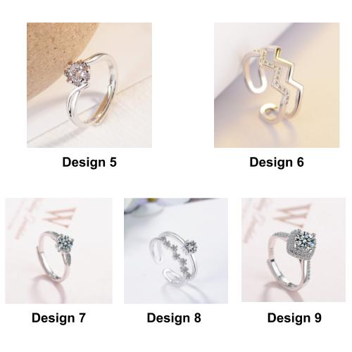 [Buy 2 Rings @ Rm45] [Come With Ring Box] Trendy Minimalist Designed Premium Women Ring