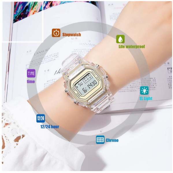 [Bundle for 2 @ RM45] [100% Ready Stock] Mix & Match Multi-Functional Unisex Digital LED Watch