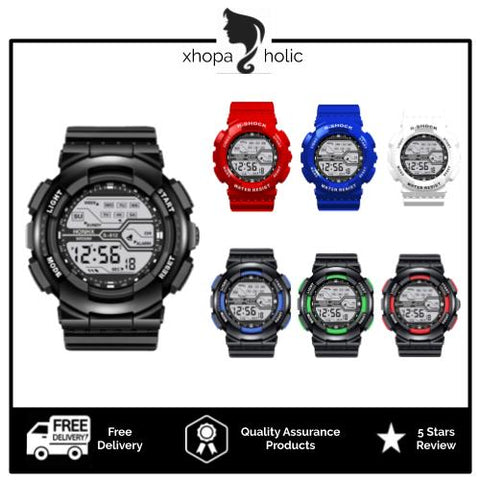 Classic Designed Multi-Functional Unisex LED Digital Watch