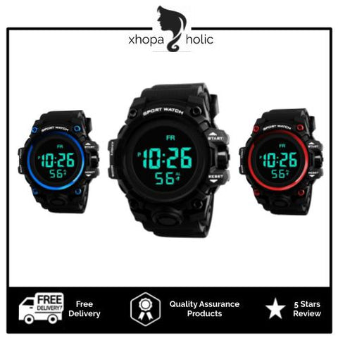 [Bundle for 2 @ RM45] [100% Ready Stock] Minimalist Designed Unisex Digital LED Sports Watch