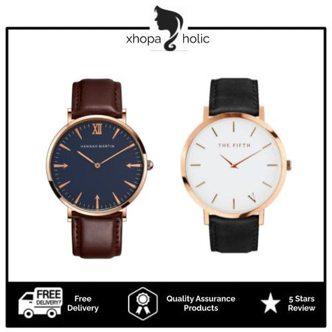 [BUY 1 FREE 1] Classic Minimalist Designed Couple Watches