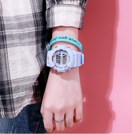 [Bundle for 2 @RM45] [100% Ready Stock] Colourful Multi-Functional Display Unisex Watch