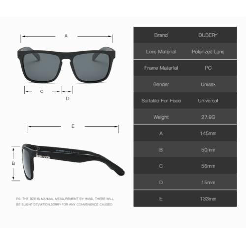 [100% Ready Stock] [Free Casing + Cloth] Classic Vintage Designed Polarized Unisex Sunglasses