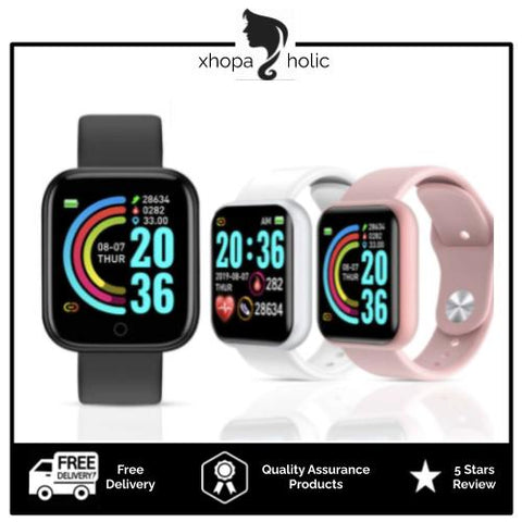 [Bundle for 2 @ RM89] [100% Ready Stock] Multi-Functional Digital Fitness Sports Smart Watch