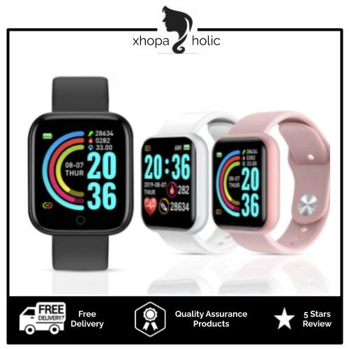 [100% Ready Stock] Multi-Functional Digital Fitness Sports Smart Watch