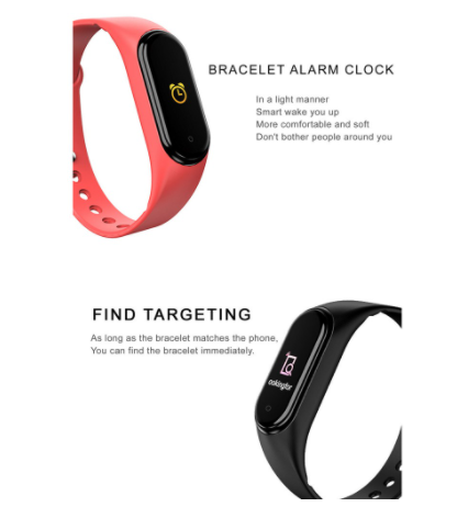 [Bundle For 2 @ RM59] [100% Ready Stock] Multi-Functional Fitness Tracker Smart Band Wristband