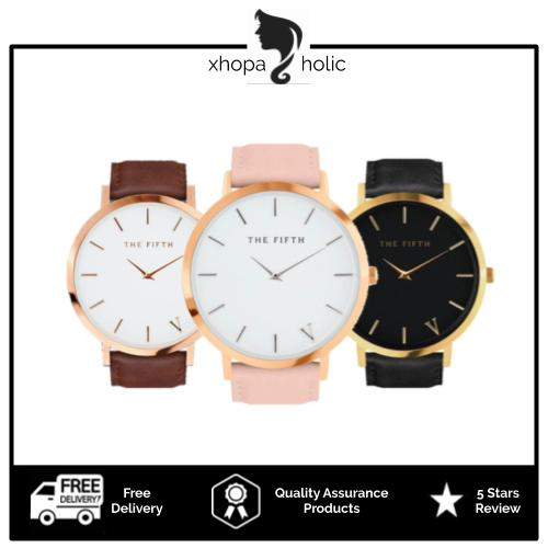 [2 For RM39] [100% Ready Stock] Minimalist Designed Watch Quartz Analog Band Leather Unisex Watch