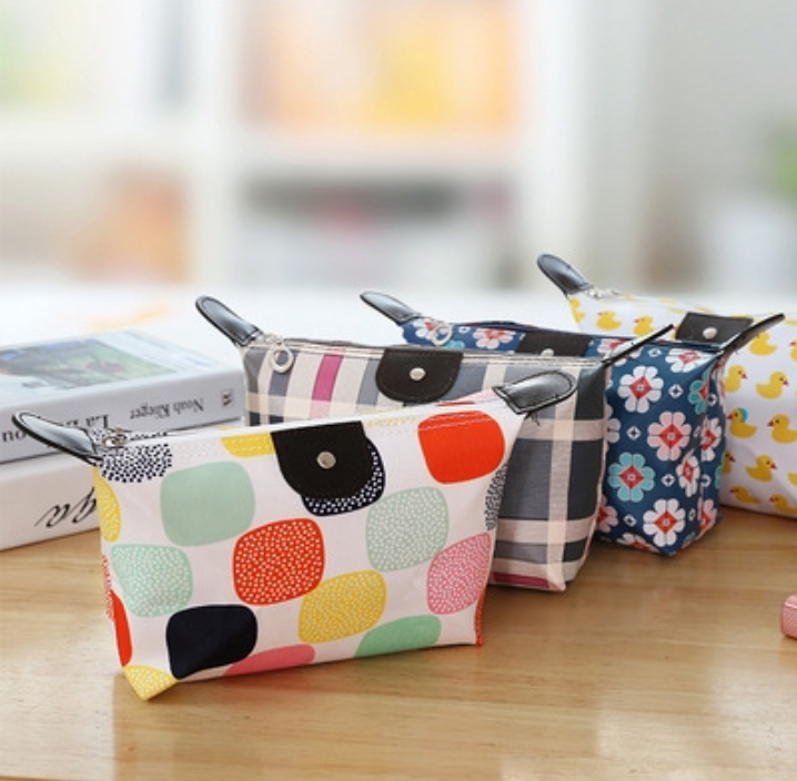 Candy Makeup Foldable Cosmetic Travel Storage Bag