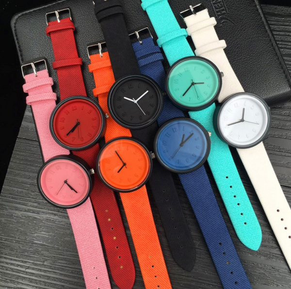 [2 For RM40] [100% Ready Stock] Cando Designed Luxurious Unisex Leather Watch