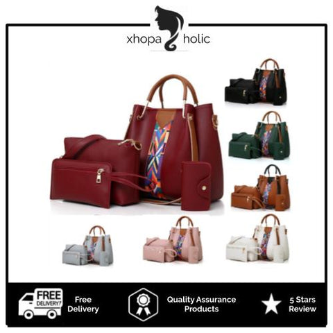 Mandy 4 In 1 Set Premium Handbag
