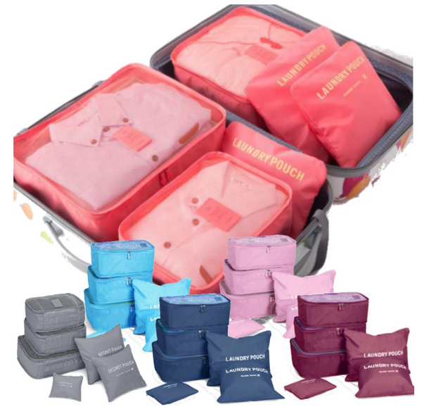 Travel Must Have 6 in 1 Organizer Bag (Random Colour)