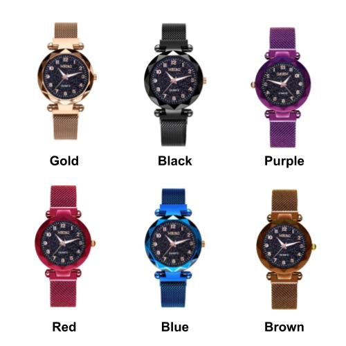 [2 For RM35] [100% Ready Stock] Meiro Designed Magnetic Women Watch
