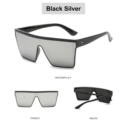 [Bundle for 2 @ RM45] [100% Ready Stock] Stylish Oversized Unisex UV400 Sunglasses