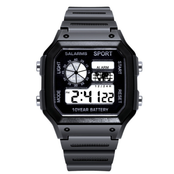 Multi-Function Unisex Calendar Digital Watch