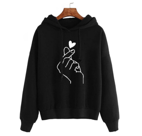 [2 For RM70] [100% Ready Stock] Fashionable Love Designed Women Sweater