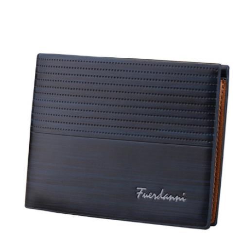 [100% Ready Stock] Premium PU Leather Slim Wallet