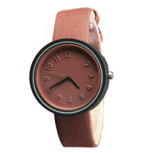 Cando Designed Luxurious Women Leather Watch