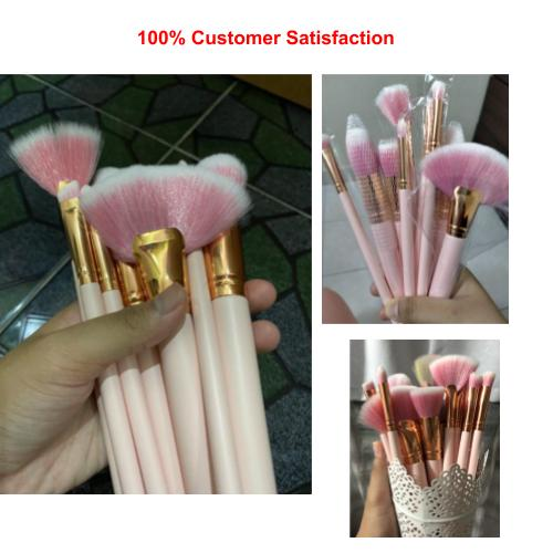 [100% Ready Stock] [10 Pcs Brush @ RM35] Premium 10 Pcs Makeup Brush Set