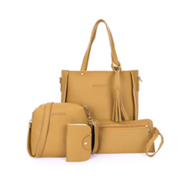 Sammy 4 in 1 Premium Set Women Handbag