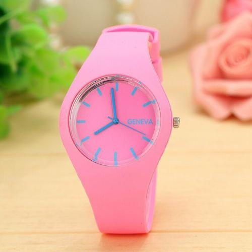 [Bundle for 2 @ RM45] [100% Ready Stock] Trendy Korean Inspired Jelly Analog Watch