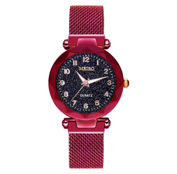 Meiro Designed Magnetic Women Watch