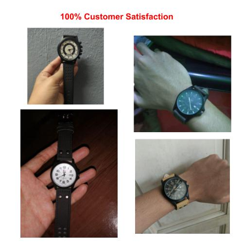[Bundle for 2 @ RM35] [100% Ready Stock] Minimalist Designed Analog Unisex Watch