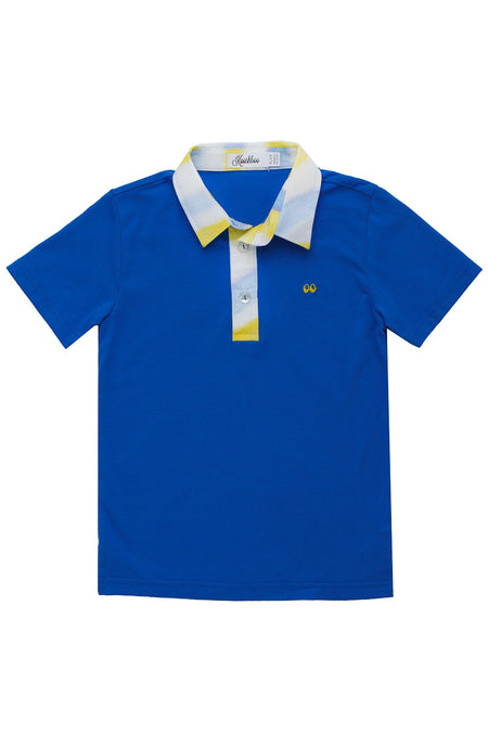 WATERCOLOUR POLO BLUE