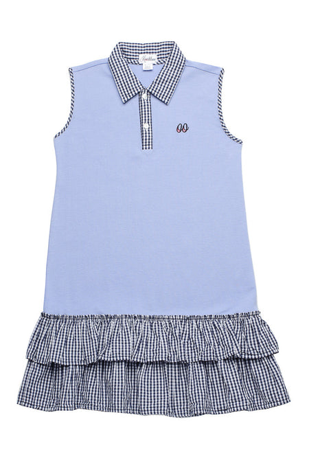 EMILIE DRESS BLUE