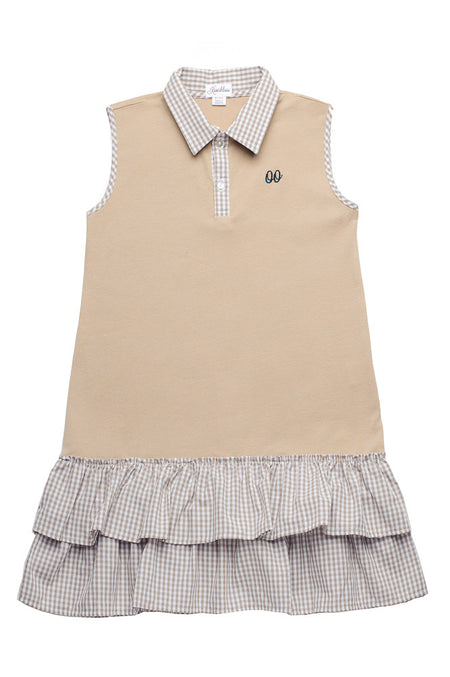 EMILIE DRESS BEIGE
